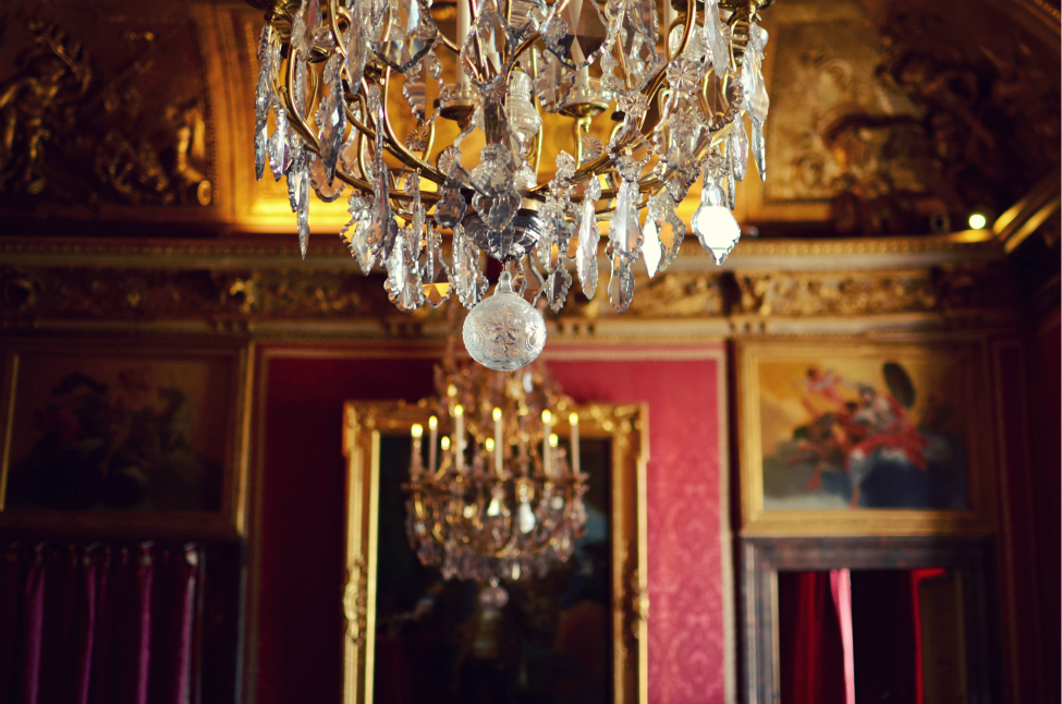 decorations at the chateau de versailles