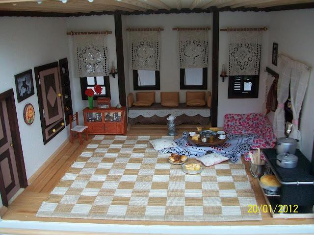 minyatür ev genel görünüm