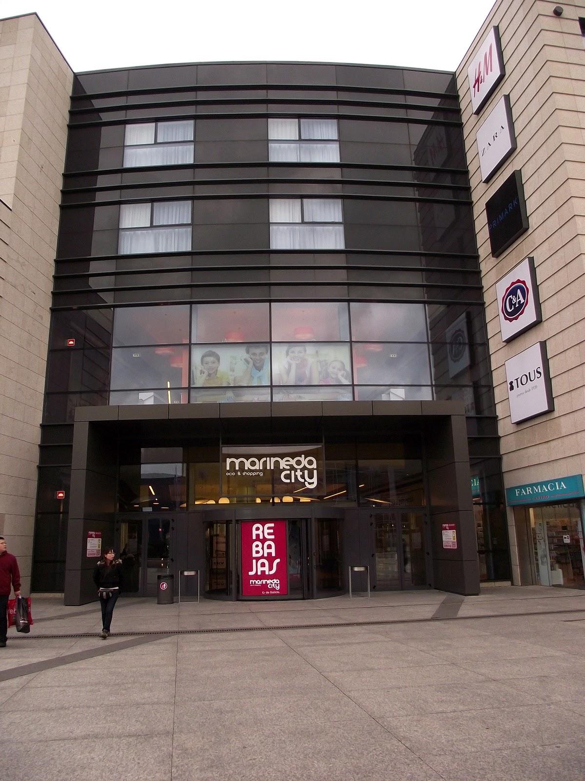 Centro comercial marineda city tiendas de ropa y articulos - Cine marineda city coruna ...
