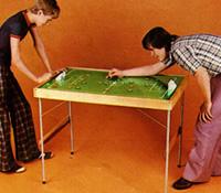 Propaganda da Mesa para Futebol de Botão da Coluna, veiculada nos anos 70.