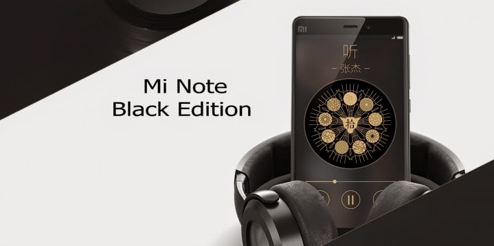 Mi Note Black Edition