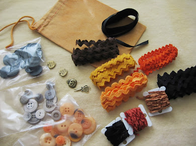 Halloween grab bag of trims