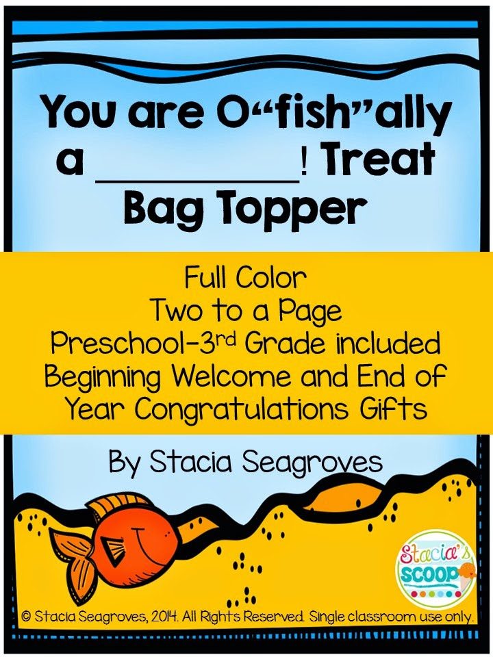 http://www.teacherspayteachers.com/Product/You-are-ofishally-in-___Grade-Treat-Bag-Toppers-Student-Gift-Labels-1380256