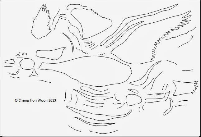 Wild Geese Drawing This is How The Drawing Looks