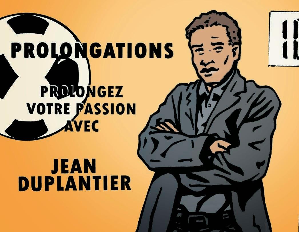Suivez sur twitter Jean Duplantier, l'animateur de l'émission radio Prolongations