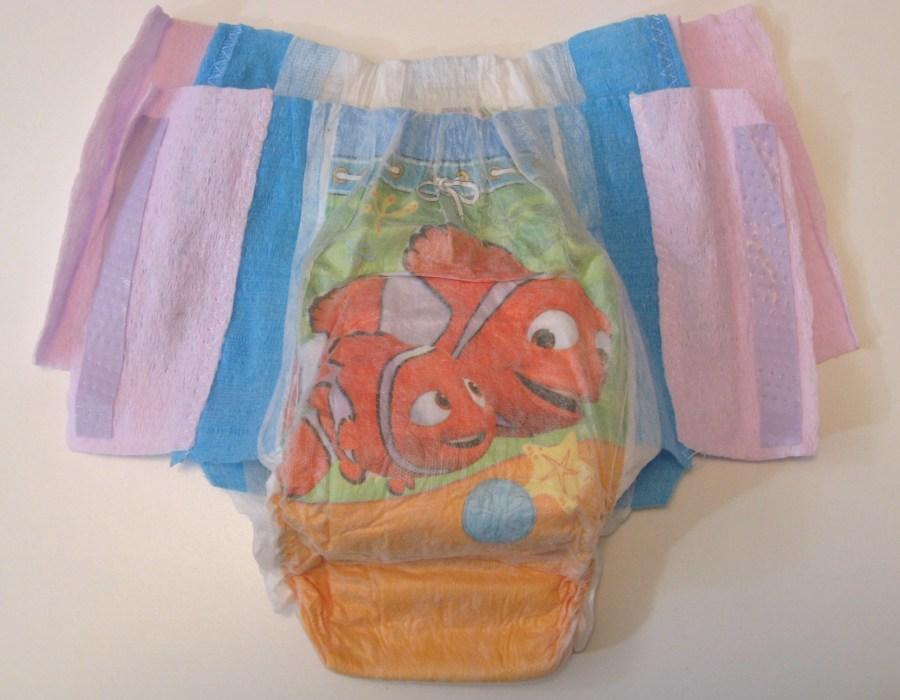 Child swim diapers leak
