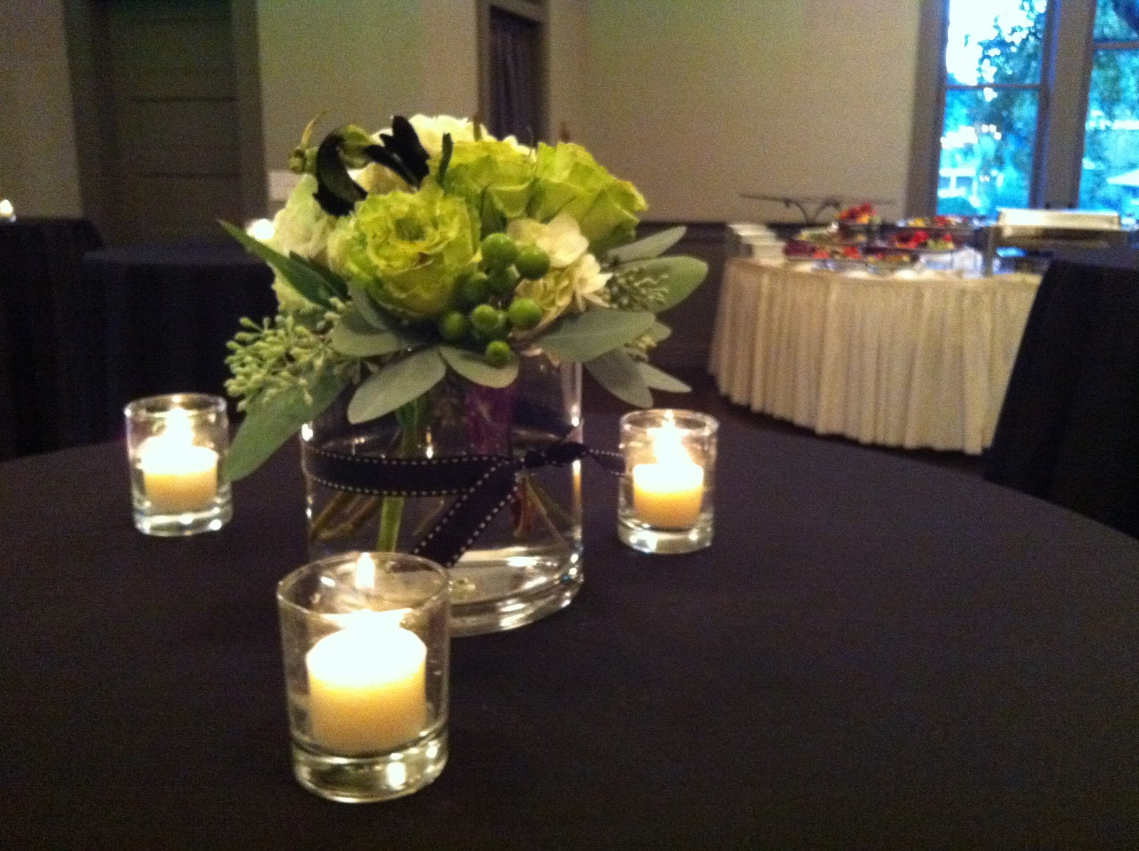 elegant 60th birthday centerpieces