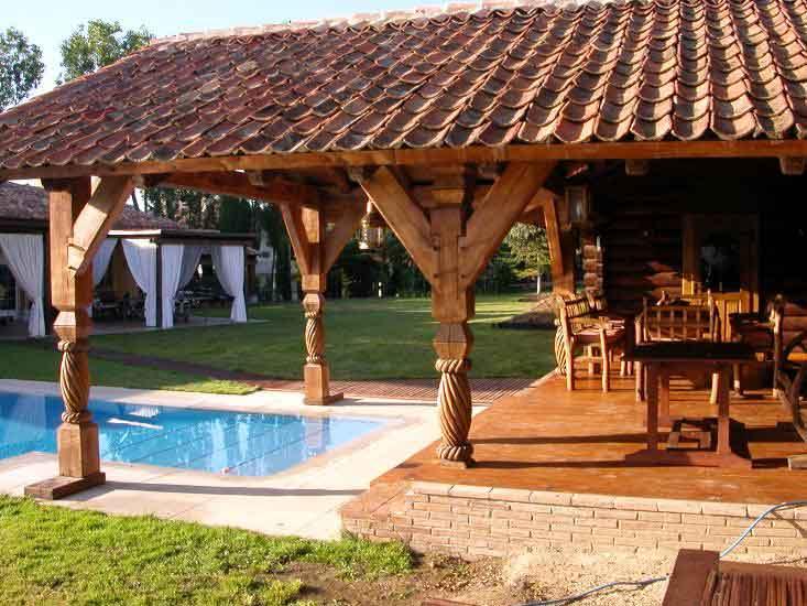 Gallart grupo el blog suelos y puertas de madera en asturias diferencias entre porches - Porches en madera ...