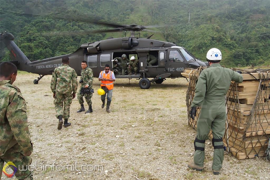 Fuerza Aerea Colombiana Black Hawk FAC4108