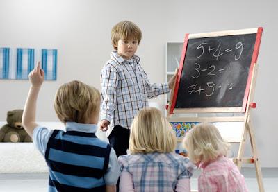 Siswa mengajar