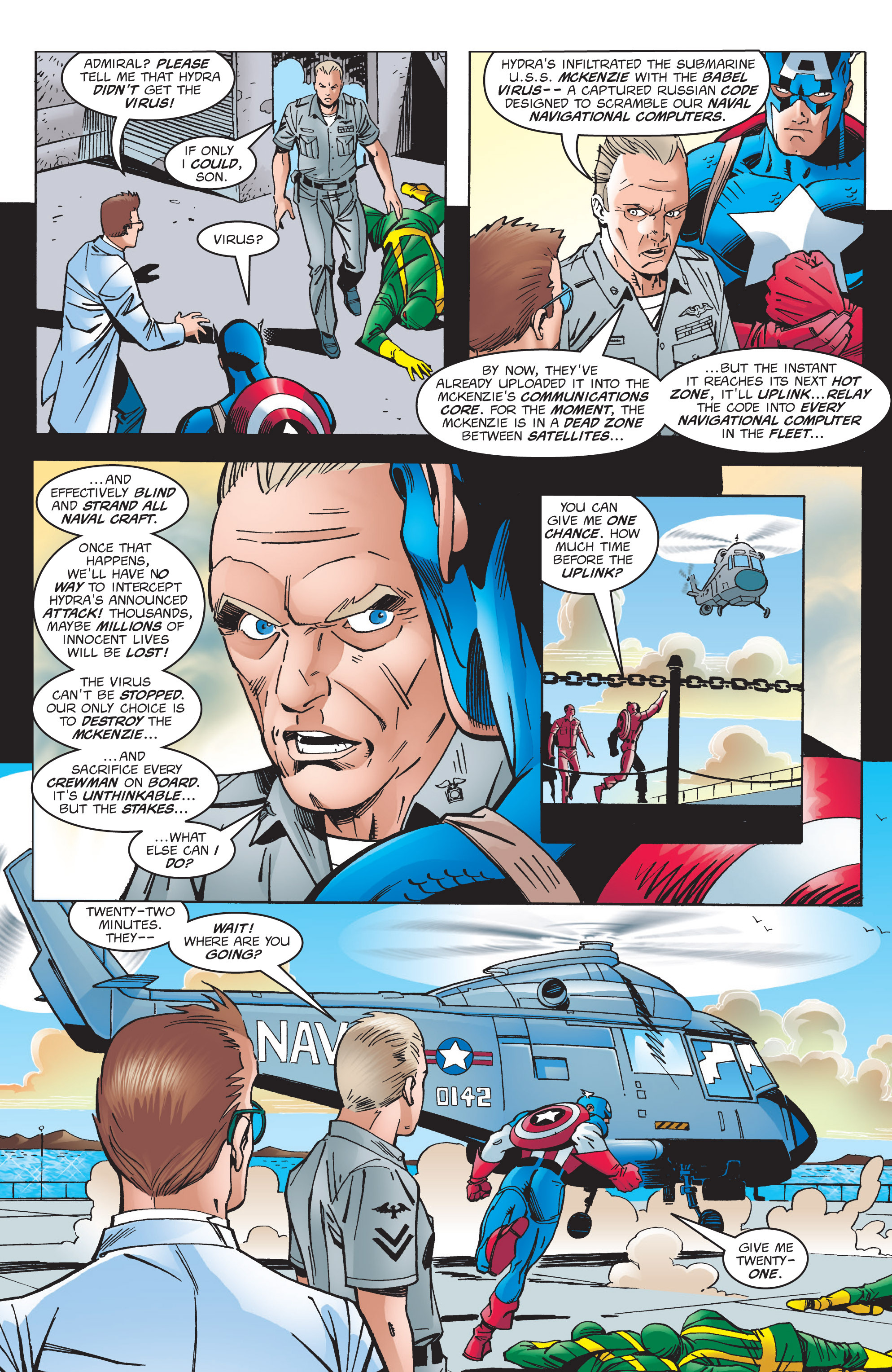 Captain America (1998) Issue #2 #5 - English 6