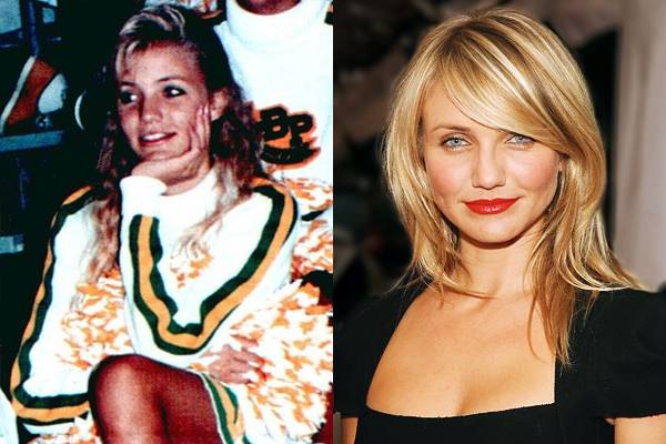 Cameron Diaz — I've never been a big fan of Cameron Diaz, but I must say she was pretty cute in high school. I totally would have dated her. (Though, obviously, she wouldn't have dated me.)