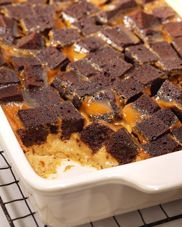 Chocolate Caramel Bread Pudding | Cook'n is Fun - Food Recipes ...
