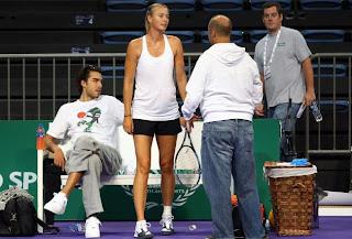 Maria Sharapova Boyfriend Sasha Vujacic 2013
