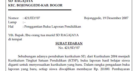 contoh surat penanggung jawab utang   soal bahasa