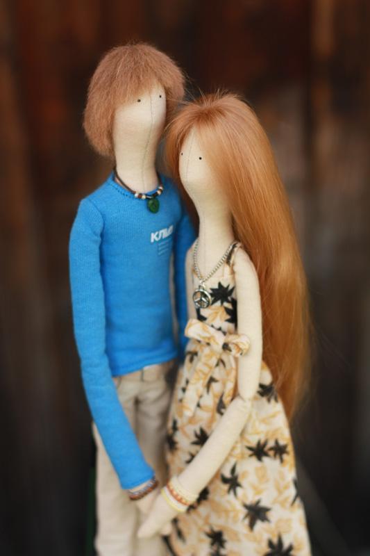 Портретные куклы на свадьбу
