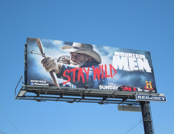 Mountain Men season 2 History billboard
