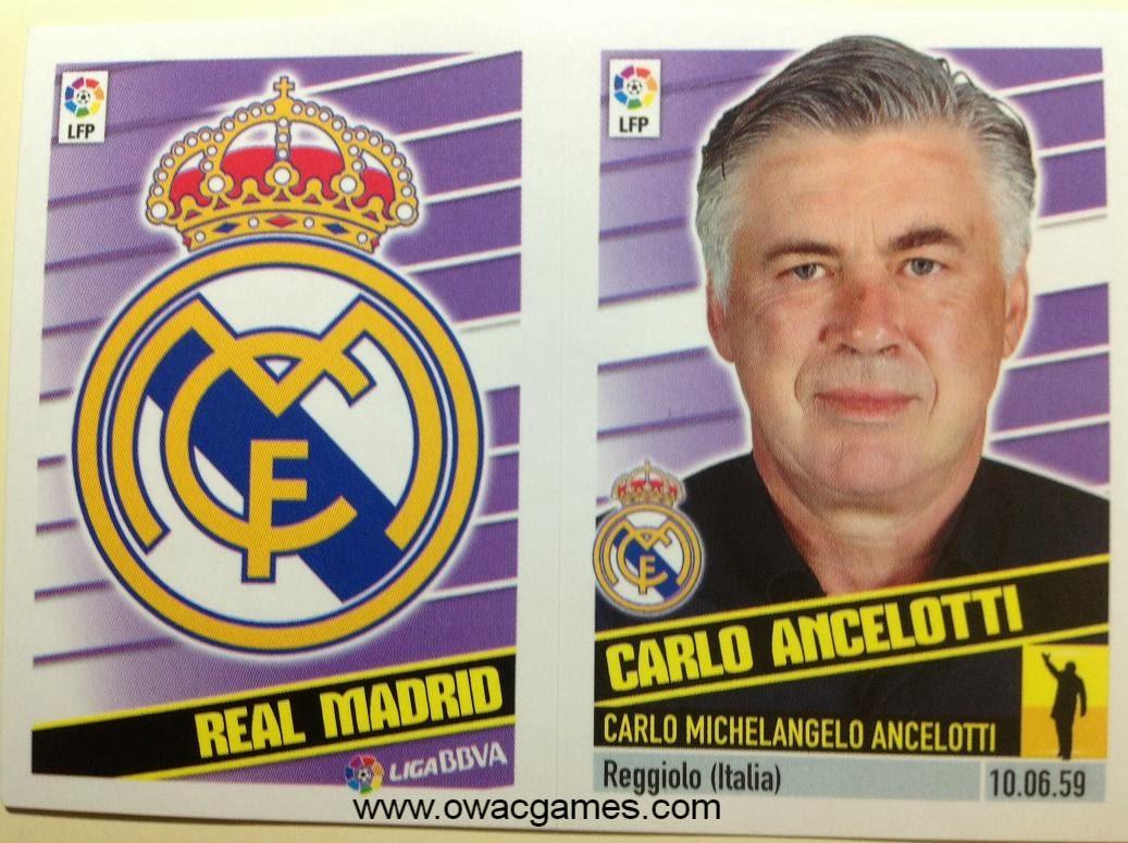 Liga ESTE 2013-14 Real Madid - Escudo - Entrenador