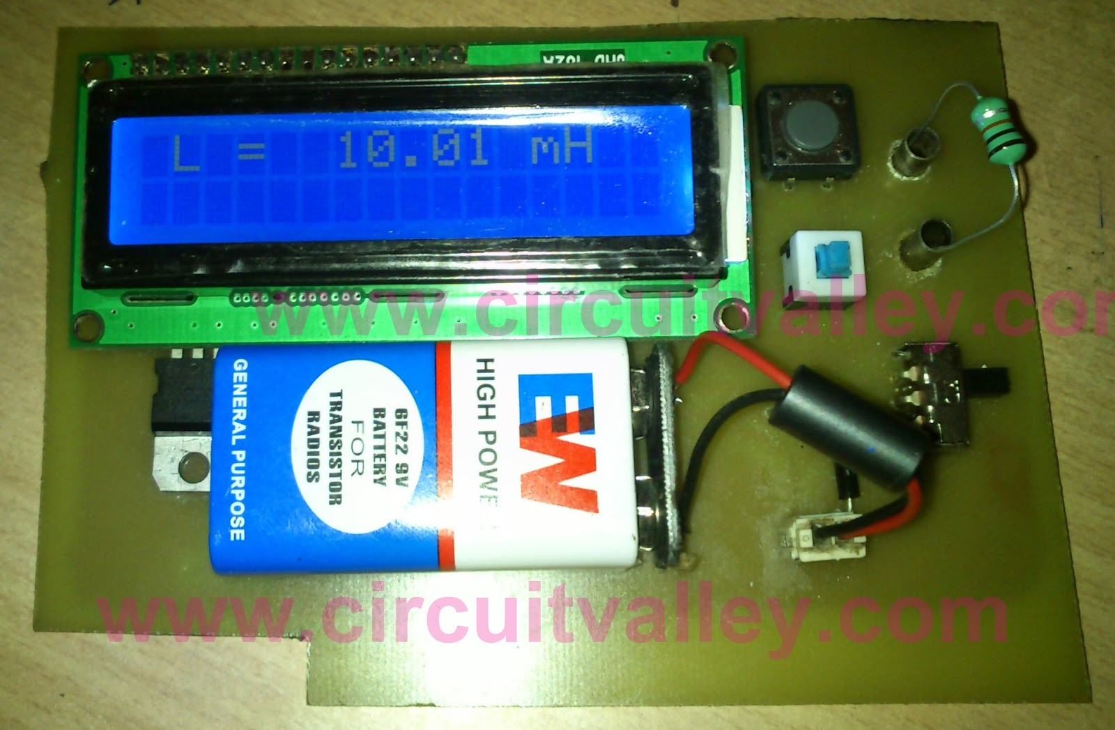 Accurate LC indutance Capacitance Meter