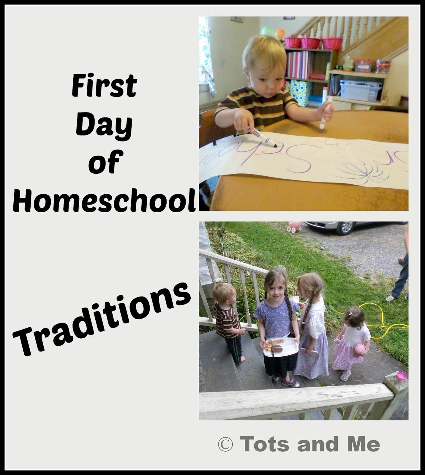 First Day of School Traditions in our Homeschool