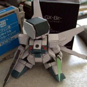 GX-Bit Gundam Papercraf
