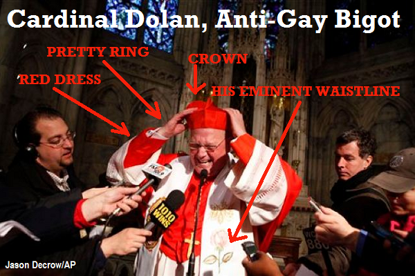 Timothy Cardinal Dolan flees to Ireland.
