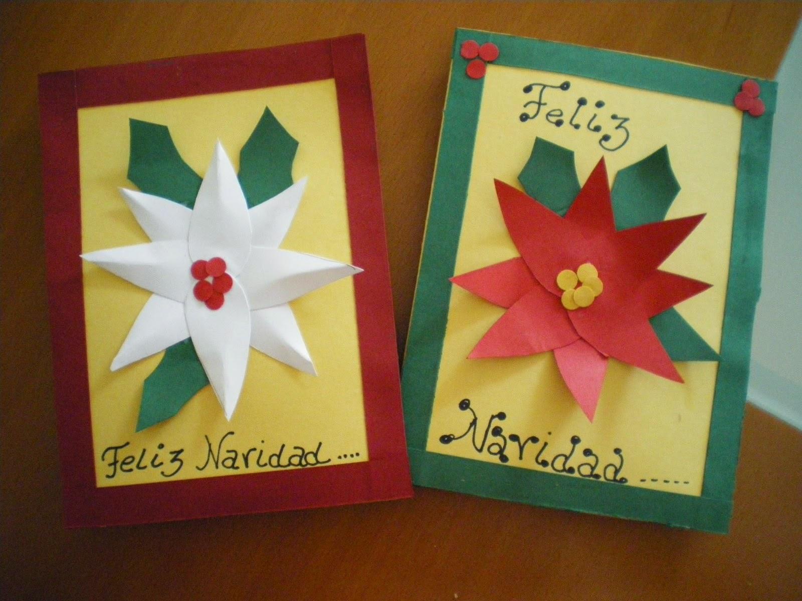 Las tarjetas para la navidad enviar o no enviar la navidad - Manualidades postales navidad ...