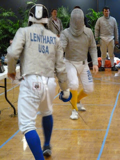 Fencing at the 4th Annual Yellow Jacket Open