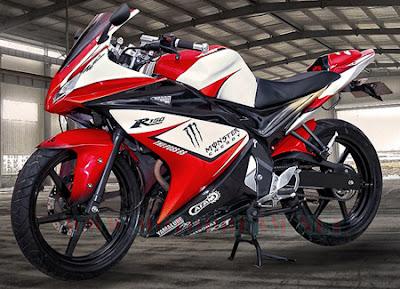 Foto modif motor Yamaha New Vixion - exnim.com