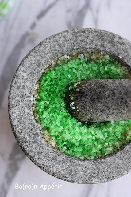 zielony cukier jak zrobic