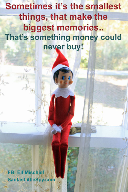 Elf on the Shelf memories ideas funny photo