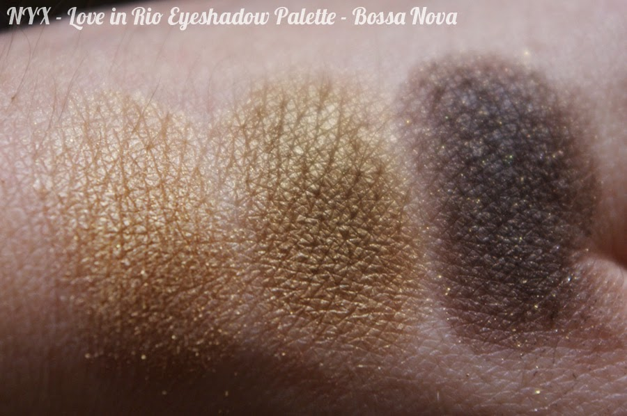 NYX - Love in Rio Eyeshadow Palette - Bossa Nova