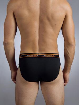 baskit Urban Basics Brief Underwear Black Back Gayrado Online Shop
