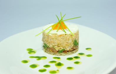 Salmon Tartar (Salmon Kebbe) Recipe