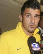Declaraciones de David Villa sobre su lesión y el próximo partido de la Selección Española de fútbol