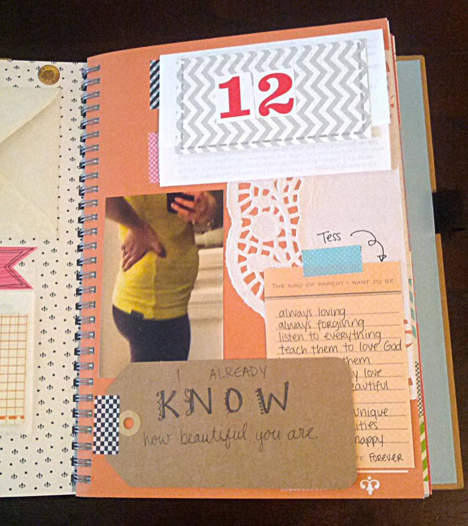 How to scrapbook baby book - Baby Book Smash Book