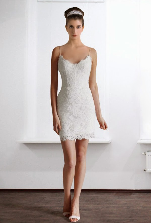 Mini short wedding dresses evening dresses gown for Short mini wedding dresses