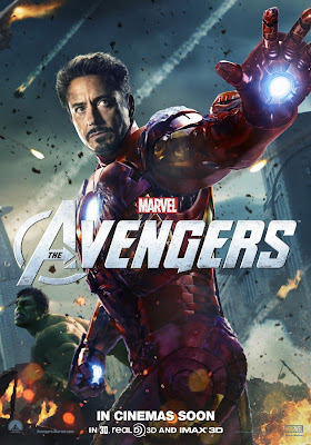 The Avengers International Character Movie Posters - Mark Ruffalo as Hulk & Robert Downey Jr. as Iron Man