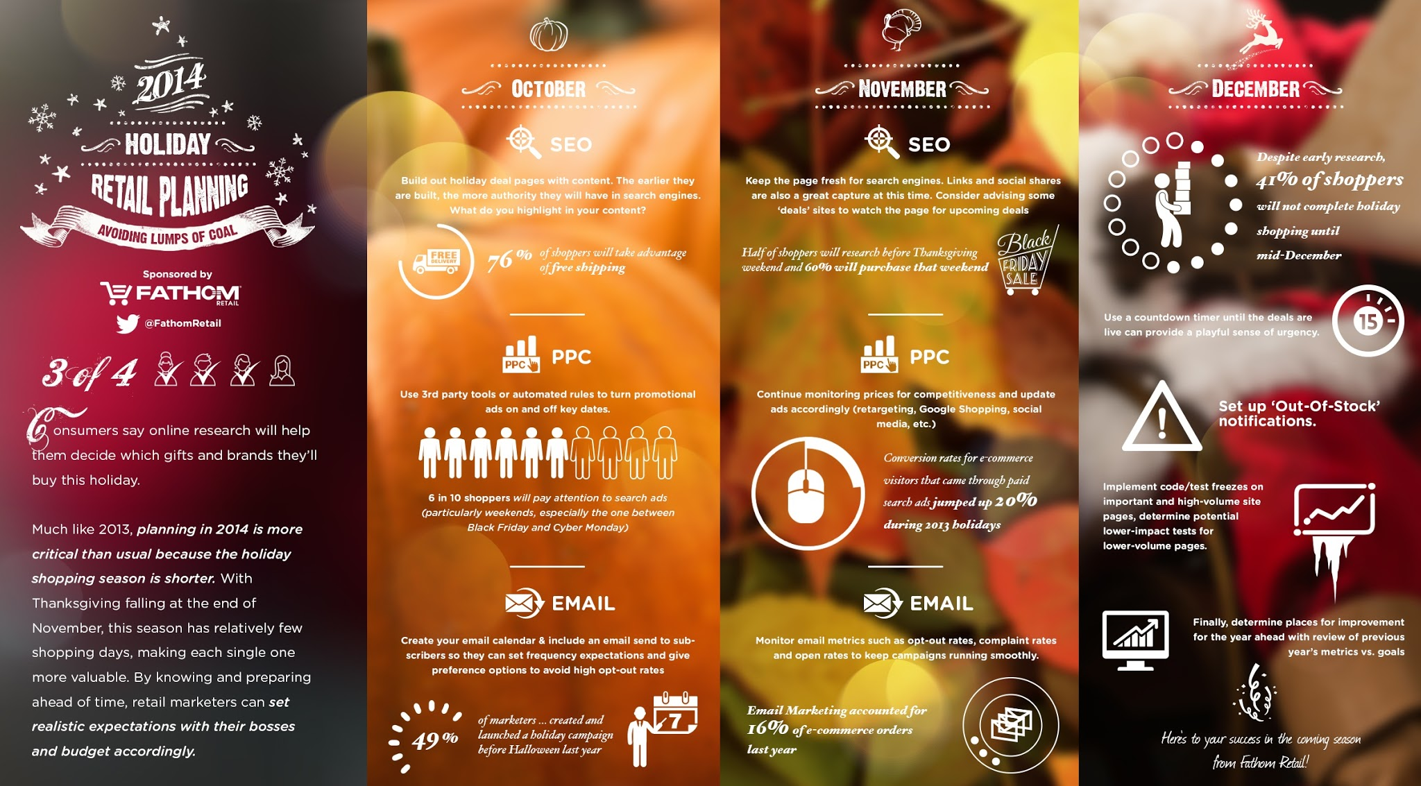 Holiday Marketing Trends - Infographic #SEO #PPC #Email