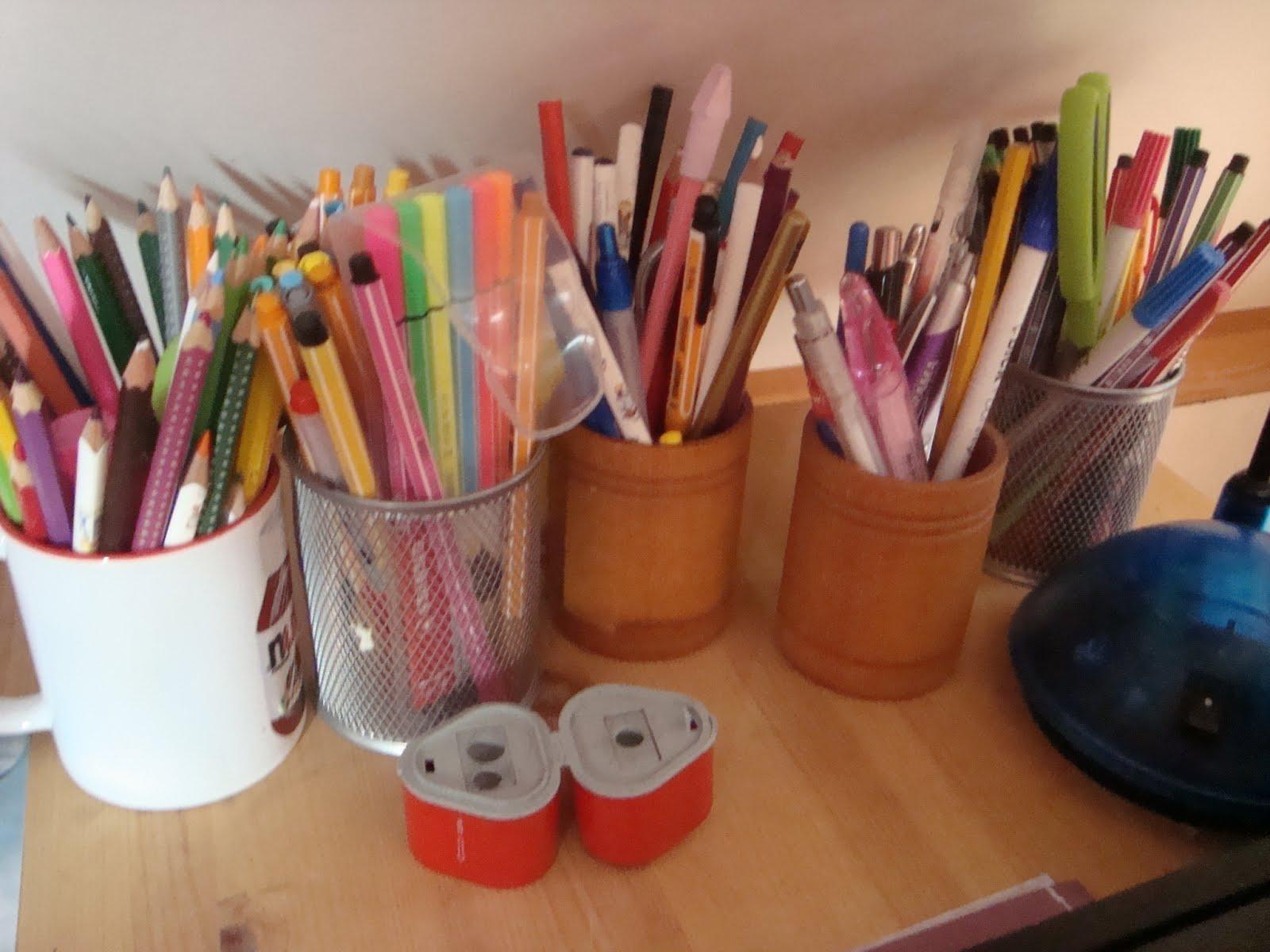 Stiftebecher immer griffbereit !