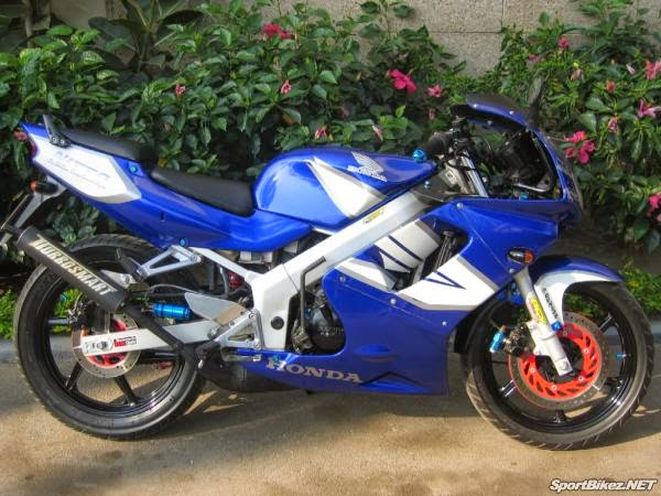 Modifikasi Motor Honda NSR 150 SP