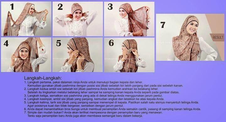 Hijab Segi Empat Terbaik Untuk Hijabers