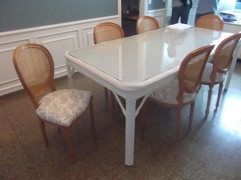 decoracao de interiores artesanal:Blog Decoração de Interiores: Mesa com Cadeiras para Sala de Jantar
