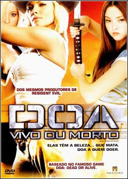 Download - DOA - Vivo ou Morto - DVDRip RMVB Dublado
