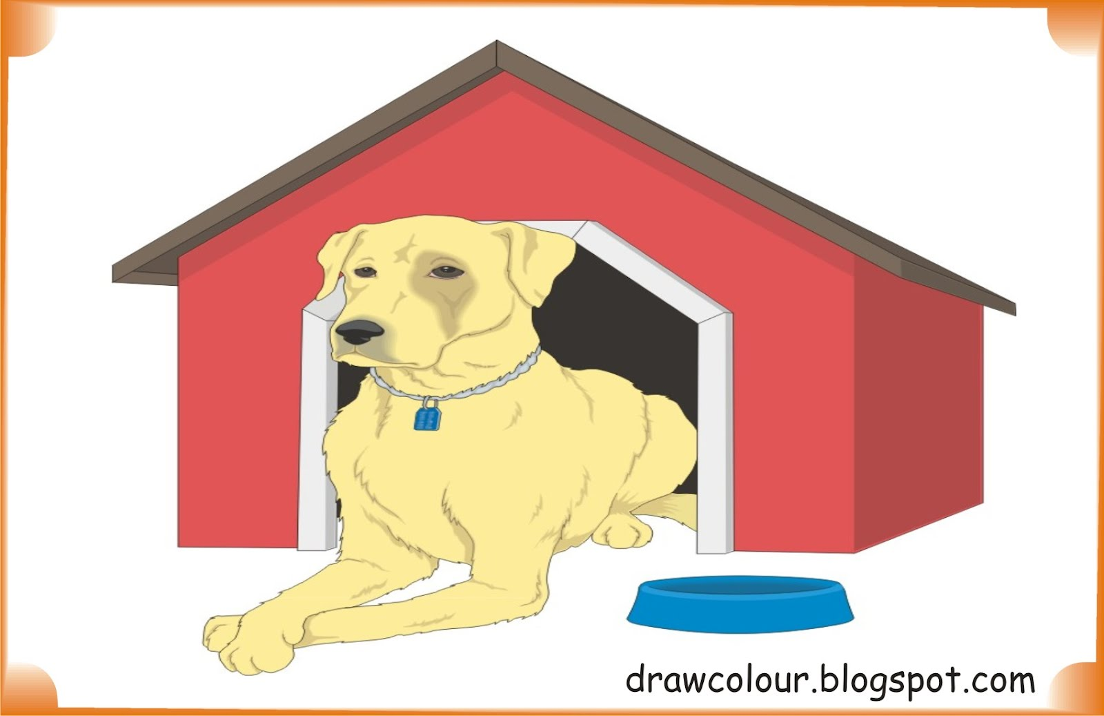 dog_in_house-coloring-pages