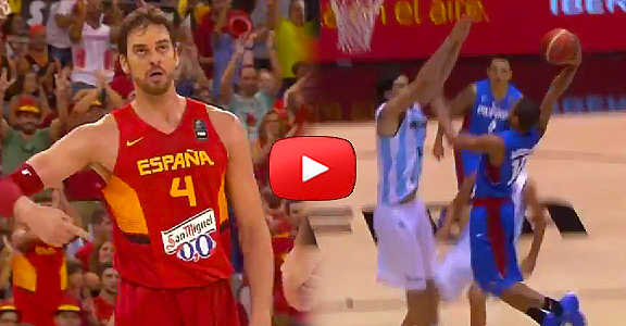 Top 5 Plays - Day 3 - 2014 FIBA Basketball World Cup (VIDEO)