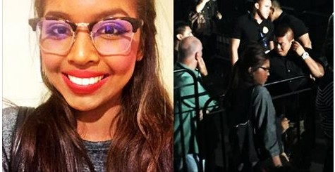 Maine Mendoza in disguise at Lifehouse concert