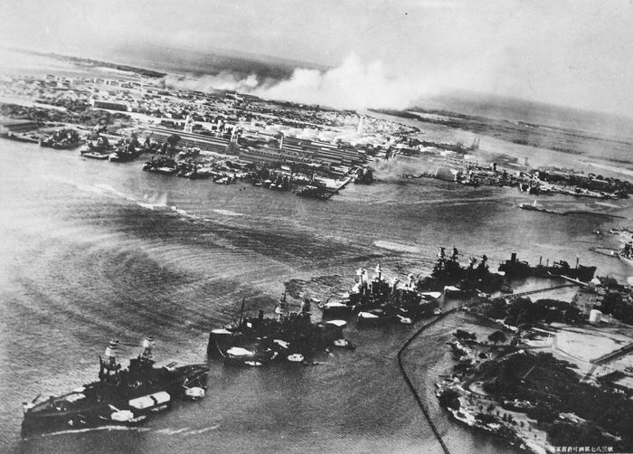Rare Photos of Attack on Pearl Harbor Seen On www.coolpicturegallery.us