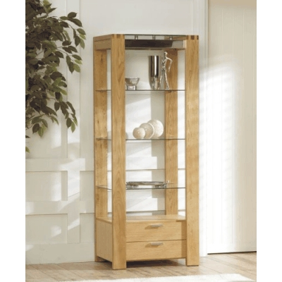 Attirant Glass Display Cabinet