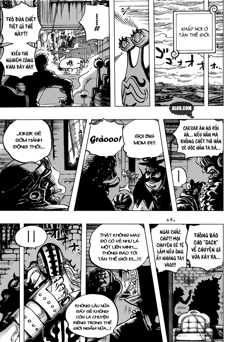 One Piece Chapter 692: Những sát thủ từ Dressrosa 007
